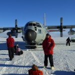 Arrival to Antarctica