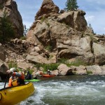Eleven Mile Canyon Kayaking