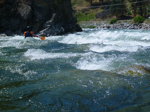 Staircase Section of the South Fork of the Payette River
