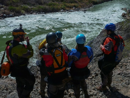 Scouting Lava Falls
